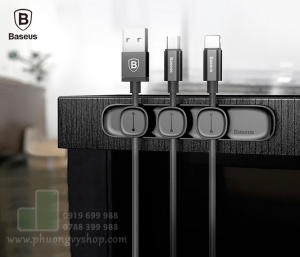 Nút nam châm giữ dây cáp gọn gàng (Peas cable clip)